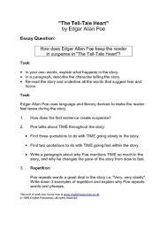 the tell tale heart by edgar allan poe th th grade lesson   the tell tale heart by edgar allan poe 9th 10th grade lesson plan lesson planet