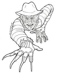 Small Picture Michael Myers Coloring Pages esonme
