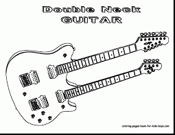 Small Picture Stunning acoustic guitar coloring pages with guitar coloring pages