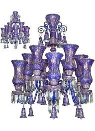 cobalt blue chandelier fine pair of enameled blue glass chandeliers cobalt blue chandelier lighting