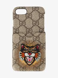 gucci iphone 6 case. gucci embroidered angry cat iphone 6/7 case iphone 6 e