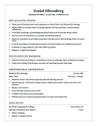 Bank Teller Resume Template New Bank Teller Resume Example Example Of Cashier Resume Bank Teller