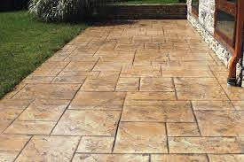 2020 stamped concrete cost stamped