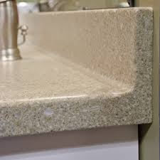solid surface countertops. Coved Backsplash. Photo Credit: Jeff Baumgart Solid Surface Countertops