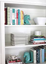 Image Cabinet Voila Thanks Domino For The Inspiration Head Over To The Inspired Room Where Melissa Is Waiting To Share Even More Ideas For Your Favorite Books The Cottage Market 17 Awesome Ways To Display Cookbooks In Your Kitchen The Cottage