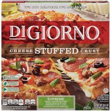 digiorno cheese stuffed crust supreme pizza