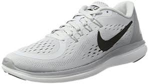 nike running shoes white. nike women\u0027s wmns flex 2017 rn, pure platinum/black-wolf grey running shoes white