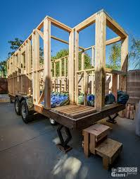 Small Picture Front Wall Framing Tiny House Giant Journey