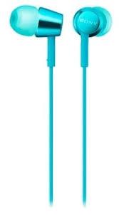 <b>Наушники Sony MDR-EX155AP</b> (<b>Light</b> blue) -> Аудио - Sony Centre