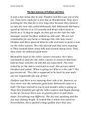 chrysalids essay the lack of development of society in the  2 pages the epic journey of flatface and hero