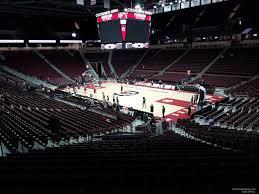 Colonial Life Arena Interactive Seating Chart Colonial Life Arena Section 103 South Carolina Basketball