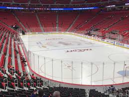 Little Caesars Arena Seating Chart Hockey Little Caesars Arena Section 104 Detroit Red Wings