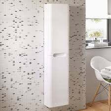 tall corner bathroom cabinet. Bathroom Cabinets Fitted Units High Gloss Luxury White Tall Cabinet Corner