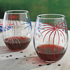 wine enthusiast fireworks u glasses