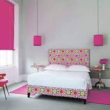 hot pink bedroom furniture. Grey Bedroom Ideas Hot Pink Accents Spotty Bed Furniture