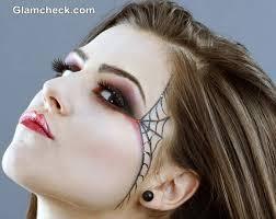 spider web makeup halloween