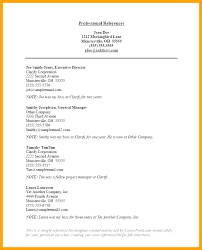 Job Reference Sheet Format Resume Reference Page Word Template Free Job Professional