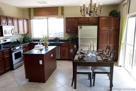 dark cabinet kitchen designs. Vibrant Creative Cherry Cabinet Kitchen Designs Traditional Dark Wood