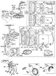 Briggs and stratton 190434 0638 99 parts diagram for electric starters