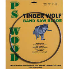 56 7 8 bandsaw blade. timber wolf 56 1/8 x 3/8 6 7 8 bandsaw blade 4