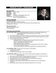 Most Current Resume Format Newest New Recent Curriculum Vitae Cv
