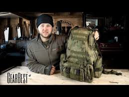 <b>Outdoor</b> / Tactical <b>Backpack</b> Option (<b>60 L</b>) - GEARBEST - YouTube