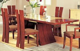 Stylish Dining Tables Contemporary for Your Tiny Space : Awesome Dining  Tables Contemporary Wooden Style Arts