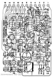 boss ce 2b bass chorus pedal schematic diagram boss ce 2b bass pedal board component side