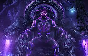 1400x900 Black Panther Throne 2020 ...