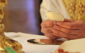 Image result for the body of christ on a plate