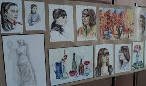 Информационно образовательный портал Республики Башкортостан  Ученица 8а класса МБОУ СОШ №5 в этом году заканчивает художественную школу На выставке представлены ее аудиторные творческие и дипломные работы в