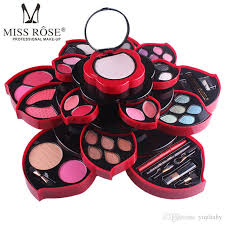 2018 miss rose makeup kit collection eyeshadow party wear makeup eye shadow palette for dresser full kit original fashion makeup makeup s