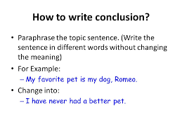 essay writing ppt video online   write the sentence in different words out changing the meaning for example my favorite pet is my dog romeo change into i have never had a better