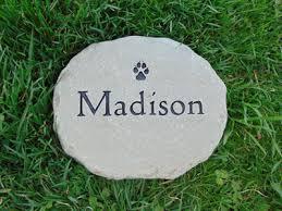 engraved garden stones. Personalized Garden Stepping Stones Custom Engraved Stone V