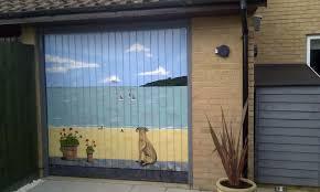 garage door muralsUnique Garage Door Murals Ideas