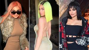 Every Kylie Jenner Haircut and Hair-Color Transformation of 2017 ...