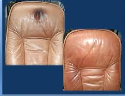 stained leather couch leather restoration cleaners restoration a removing a grease stain from leather furniture by