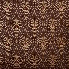 art deco fan wallpaper uk