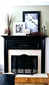 fireplace mantel decorating ideas home saramonikaphotoblog