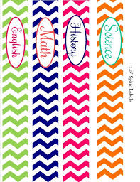 put some color into your day with this adorable set of chevron binder covers this is a set of 4 binder covers más