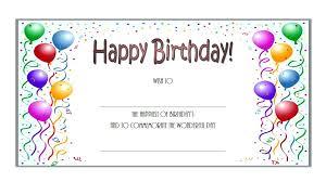Gift Certificate Printable Free Youth Baseball Certificate Template Printable Birthday