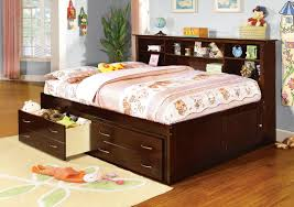 Kids Bed With Bookshelf Captain Bed For Sale Atlantic Furniture Ap8526045 Captains