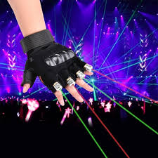 Online Laser Light Show Us 25 6 20 Off 1pcs Red Green Laser Gloves Dancing Stage Show Stage Gloves Light With 4 Pcs Lasers And Led Palm Light For Dj Club Party Bars In