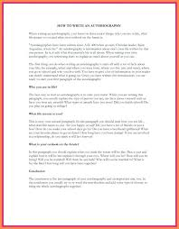 Example Of How To Start An Essay Autobiography Essay Examples Autobiographical Outline Format Sample