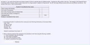 Business Net Worth Calculator Solved In Lesson 2 1 You Used A Formula That Was Written
