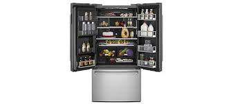 refrigerator jenn air. jenn-air\u0027s 72-inch counter-depth french door refrigerator features jenn- air\u0027s industry-exclusive obsidian interior and wi-fi connectivity through an app for jenn air
