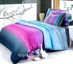 blue and purple comforter sets pink teal romantic best green set