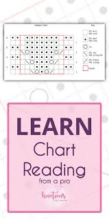 How To Read Lace Knitting Charts Tutorial How To Read A Knitting Chart Knotions