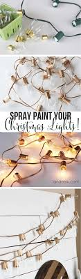 string light diy ideas cool home. String Light DIY Ideas For Cool Home Decor | Spray Painted Christmas Lights Are Fun Diy N