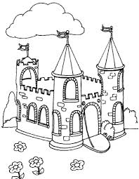 Castles are a popular subject for kid's coloring sheets with parents all over the world looking for various types of castle coloring pages on the internet. Castle Coloring Pages Coloring Rocks